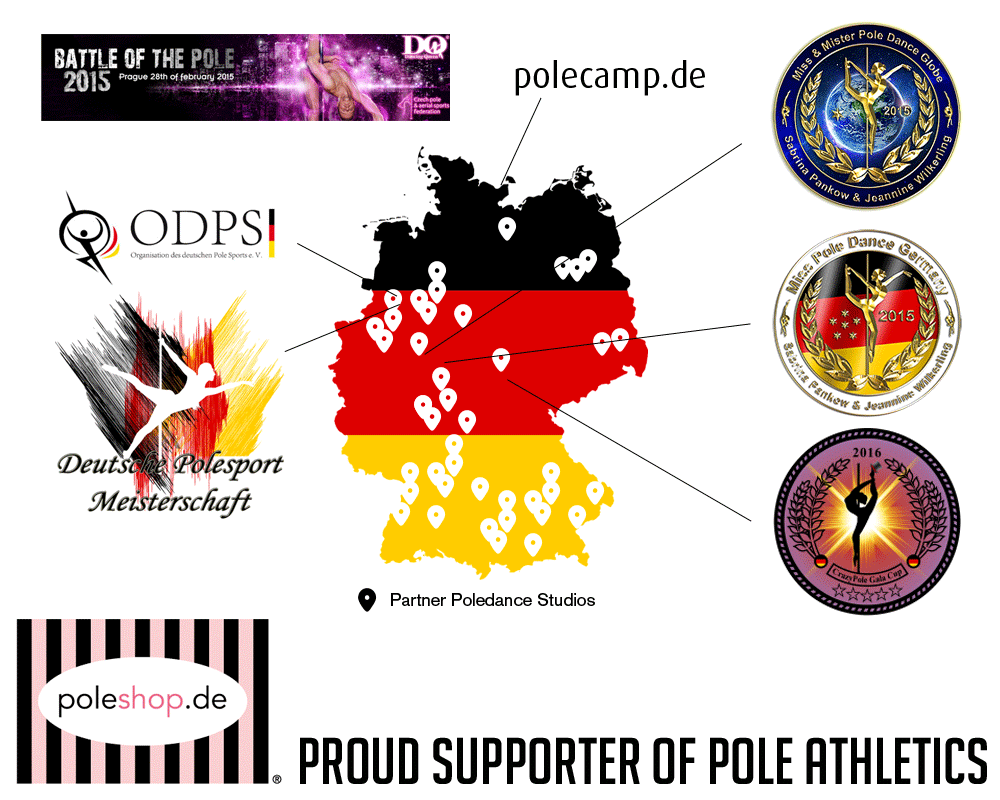 Poleshop.it Proud Supporter of Pole Athletics since 2011